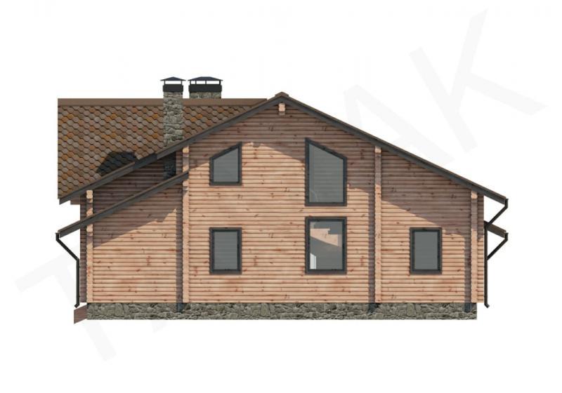 Проект дома из бруса от 180 кв.м