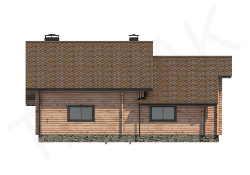 Проект дома из бруса до 180 кв.м