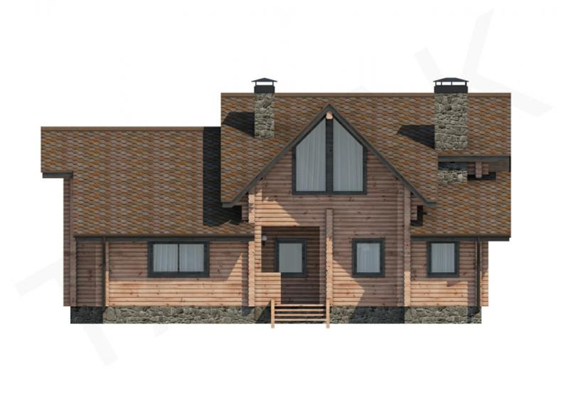 Проект дома из бруса до 190 кв.м
