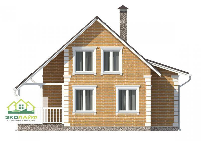 Проект дома из газобетона 141 кв.м.