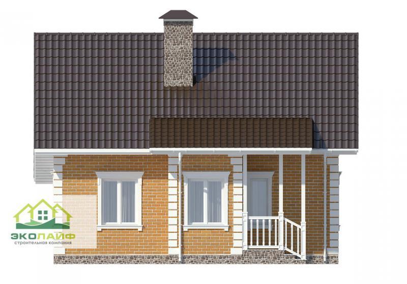 Проект дома из газобетона от 140 кв.м.