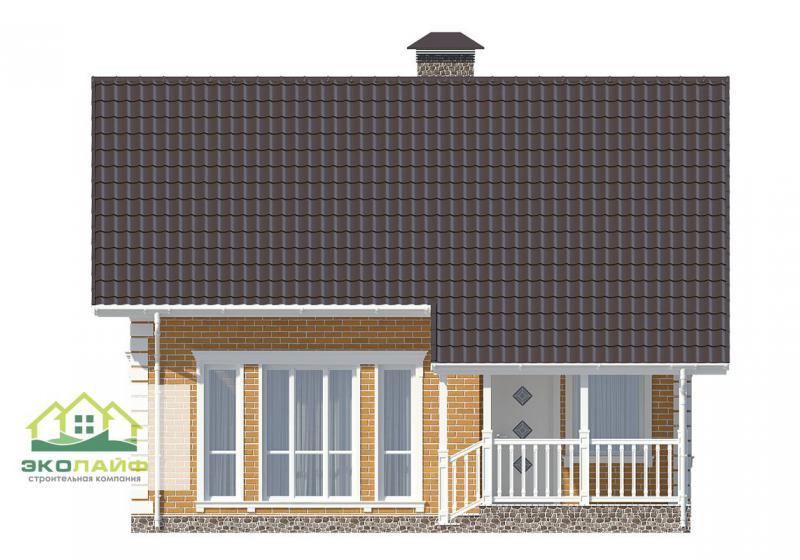 Проект дома из блоков от 140 кв.м.