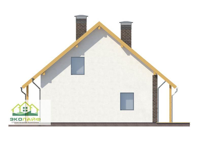 Проект дома из газобетона от 150 кв.м.