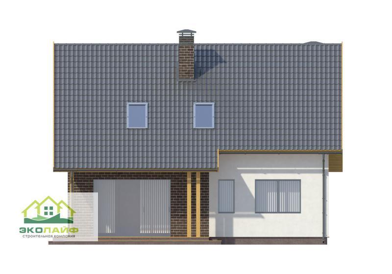 Проект дома из газобетона до 150 кв.м.