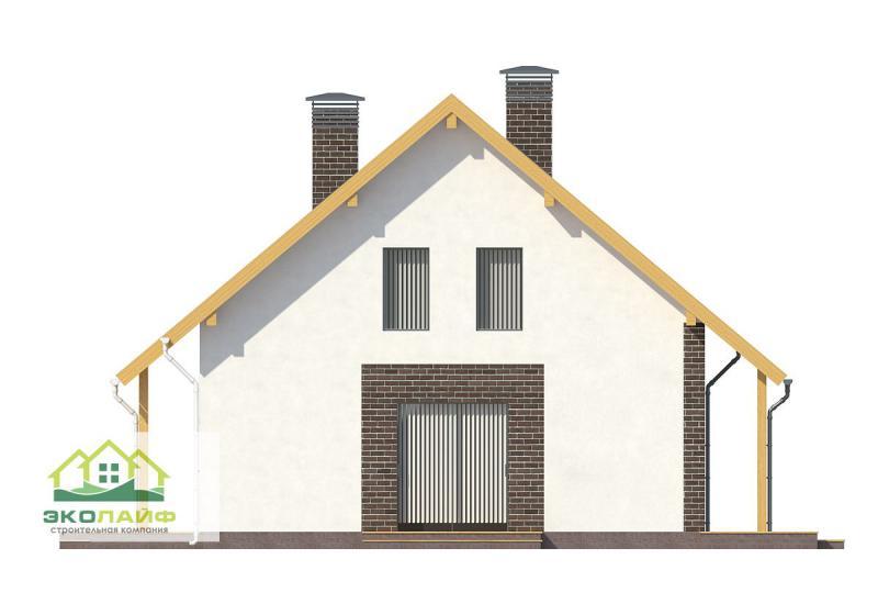 Проект газбетонного дома до 150 кв.м.