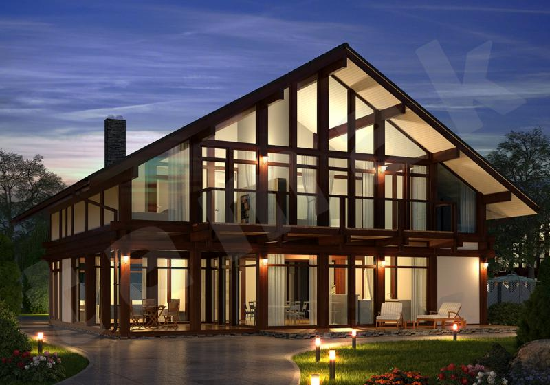 Проект элитного дома до 320 кв.м.