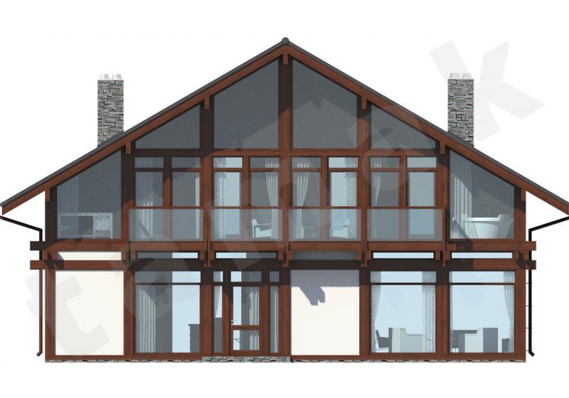 Проект элитного дома 316 кв.м.