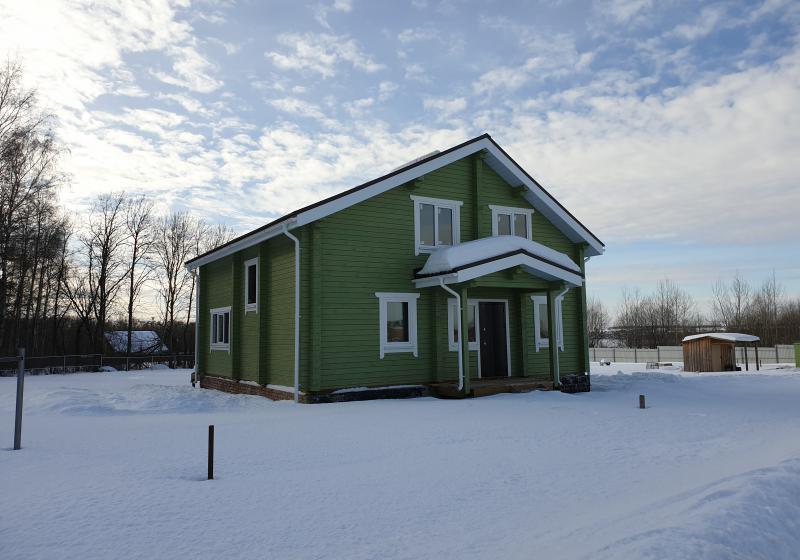 Дом из профилированного бруса 160 м2