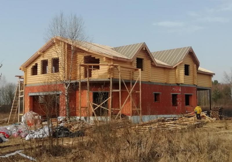 Комбинированный дом 400 м2