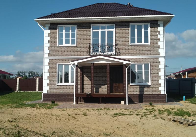Дом из газобетонных блоков 150 м2
