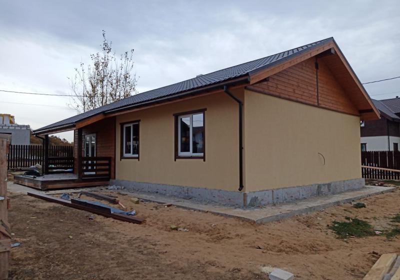 Дом по проекту Благовещенское-85