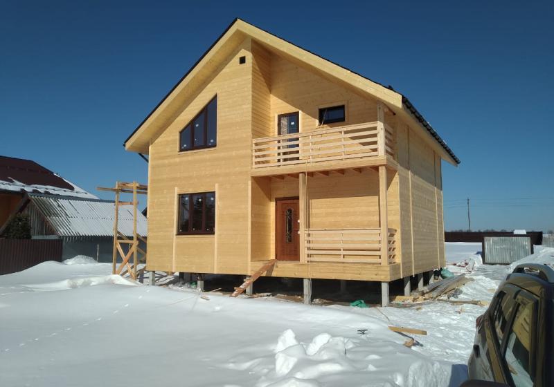 Каркасный дом 125 м2