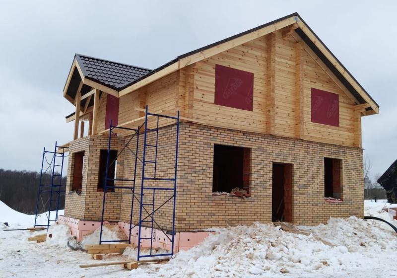 Комбинированный дом 152 м2