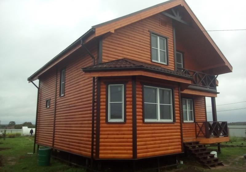Каркасный дом 133 м2