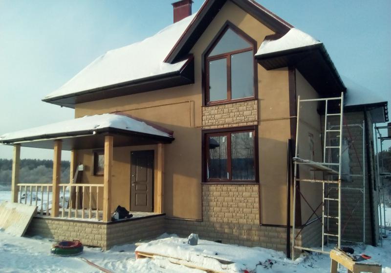 Каркасный дом 160 кв. м.