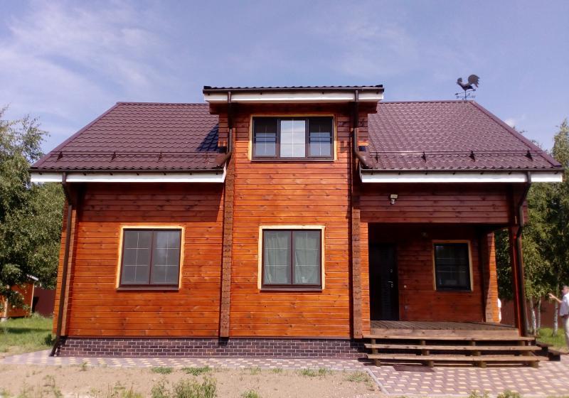 Брусовой дом 165 кв. м.