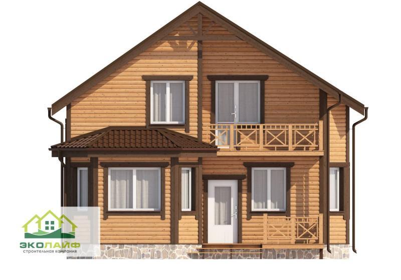 Проект дома из каркаса до 135 кв.м.