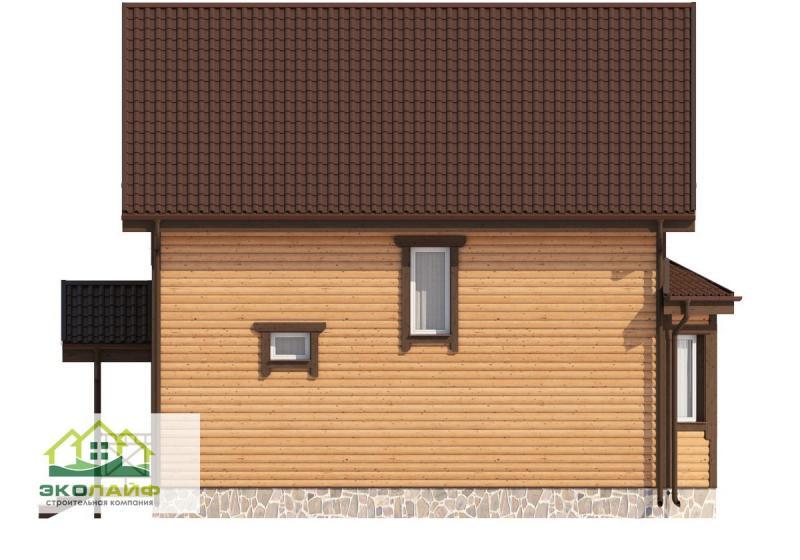 Проект дома из каркаса от 135 кв.м.