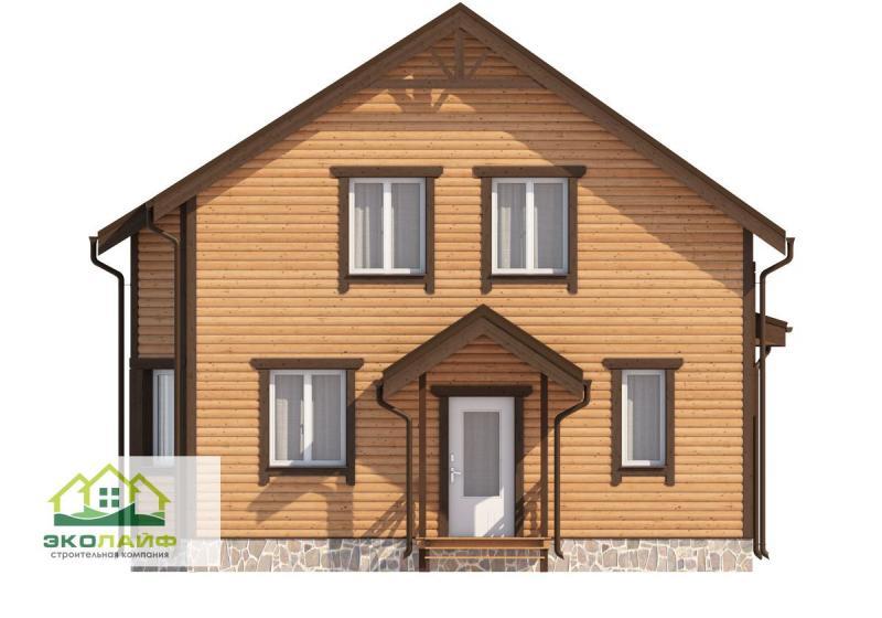 Проект каркасного дома от 135 кв.м.