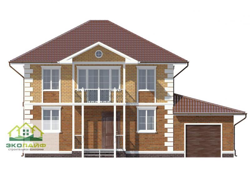 Проект дома из газобетона до 170 кв.м.