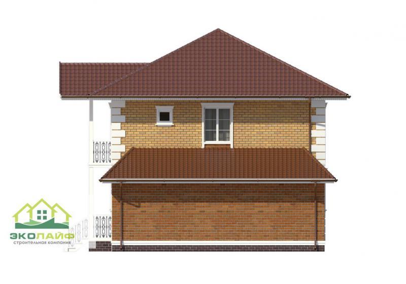 Проект дома из блоков до 170 кв.м.