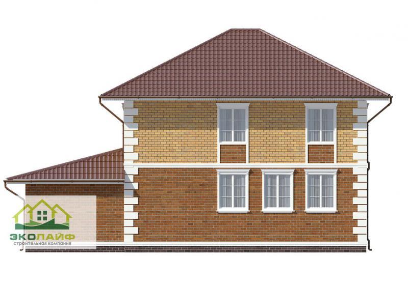Проект дома из блоков от 165 кв.м.