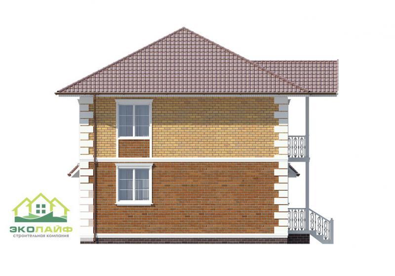 Проект дома из газобетонных блоков от 165 кв.м.