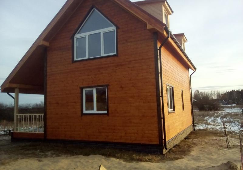Каркасный дом 110 кв. м.